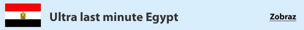 Egypt - last minute zájazdy